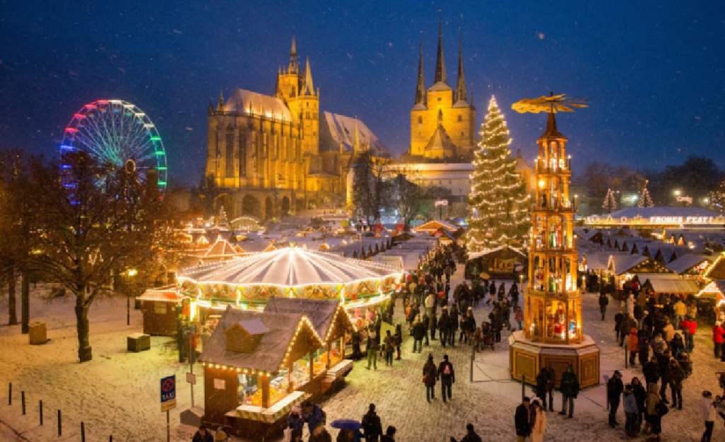 Christmas markets in a motorhome or campervan