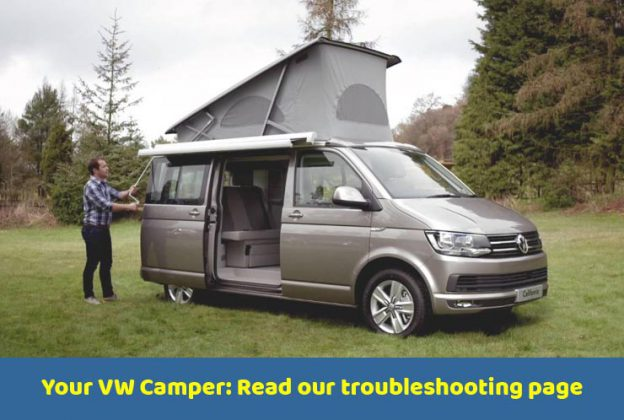 VW Campervan Hire UK, Scotland Campervan Hire